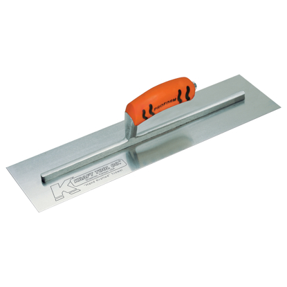 "Picture of 16"" x 4"" Carbon Steel Cement Trowel with ProForm® Handle"