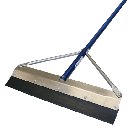 "Picture of 24"" Round Edge Seal Coat Squeegee with 6' Handle"