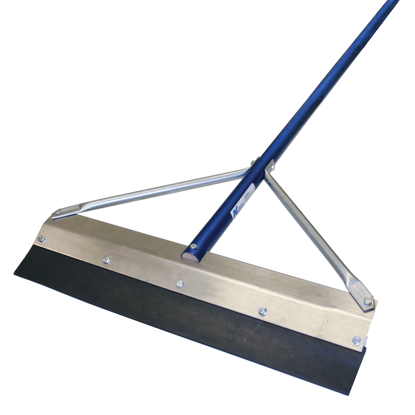 "Picture of 36"" Round Edge Seal Coat Squeegee with 7' Handle"