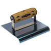 "Picture of 6"" x 4""  1/2""R Elite Series Five Star™ Blue Steel Hand Edger with Cork Handle"