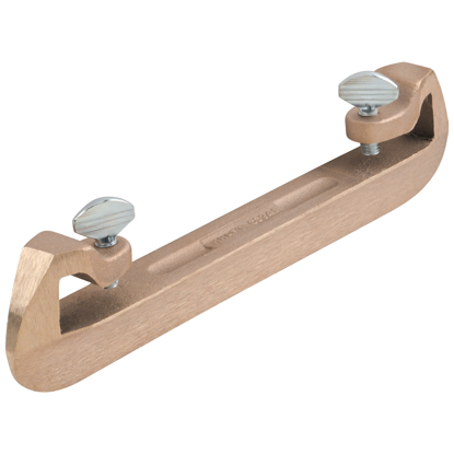 "Picture of 1-1/2"" Bronze Bull Float Groover Attachment"