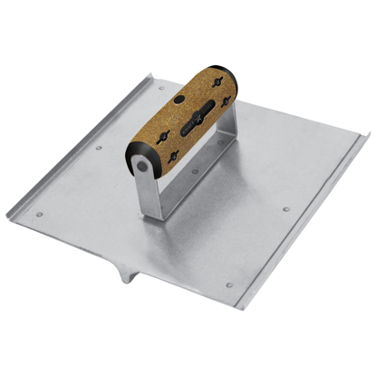 "Picture of 10"" x 10"" 3/4""R, 7/8""D Elite Series Five Star™ Stainless Steel Hand Seamer/Groover  with Cork Handle"