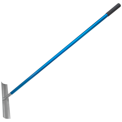 "Picture of 19-1/2"" x 4"" Cali Kumalong® Concrete Spreader with 60"" Aluminum Handle (Assembled)"