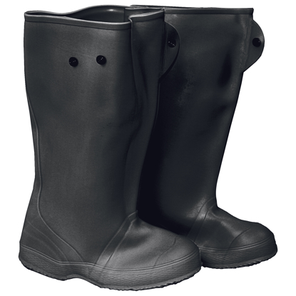 "Picture of 16"" Black Over-The-Shoe Construction Boots - Size 14"