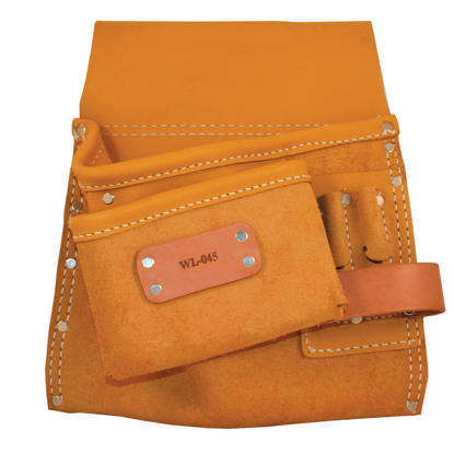 Picture of 5 Pocket Deluxe Nail Bag with Right Side Hammer Loop