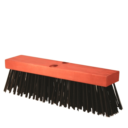 "Picture of 16"" Round Wire Street Broom Head"