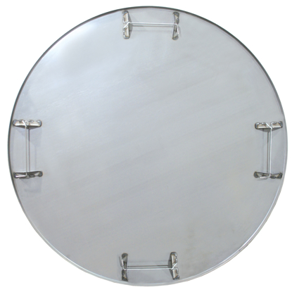 "Picture of 38-1/4"" Diameter Heavy-Duty ProForm® Float Pan with Safety Rod (4 Blade)"