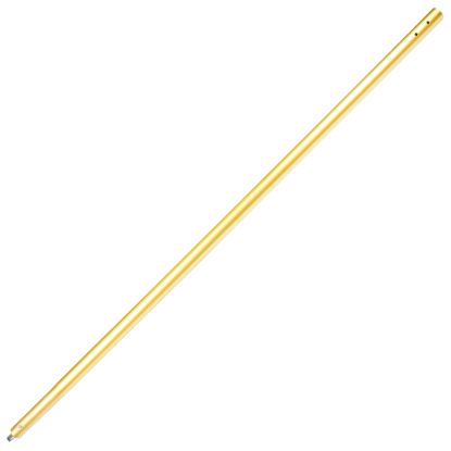 "Picture of 10' Anodized Aluminum Swaged Button Handle - 1-3/4"" Diameter (Gold)"