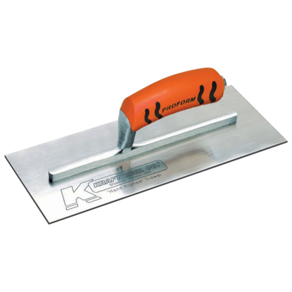 "Picture of 13"" x 5"" Carbon Steel Plaster Trowel with ProForm® Handle"