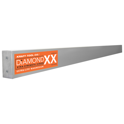 "Picture of 16' x 1-1/2"" x 3-1/2"" Diamond XX™ Magnesium Screed"
