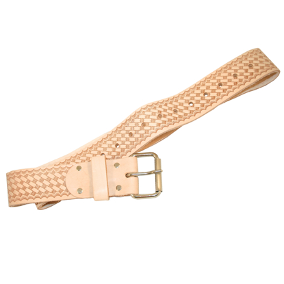 "Picture of 1-3/4"" Economy Leather Belt"