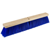 "Picture of 24"" Blue Poly Floor Broom with Bracket"